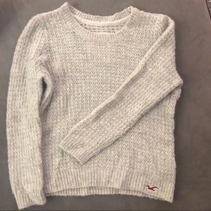 Light Grey Hollister Sweater